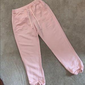 Like New Gap pink joggers pants